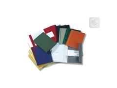 Carpeta Gomas cartón gofrado folio verde