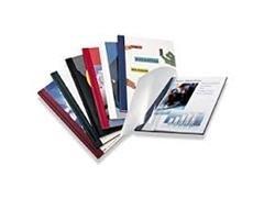 Caja 100 Carpetas encuadernación térmica yosan A4 2mm blanco