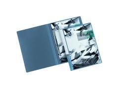 Pack 4 Dossier fastener Multifin d092 256x330mm azul
