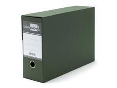 Caja transferencia sin fuelle Liderpapel folio verde