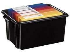 Caja multiuso ideal en orden apilable sin tapa 2 asas capacidad 32l medidas 350x520x243mm polipropil