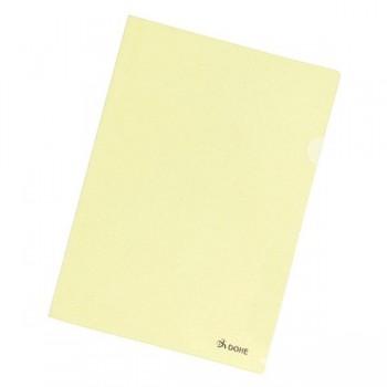 Pack 8 dossiers uñero premiun A4 amarillo