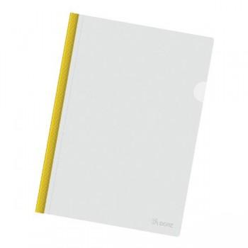 Dossier varilla tamaño A4 color amarillo