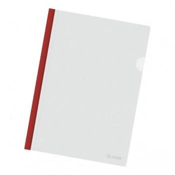 Dossier varilla tamaño A4 color rojo