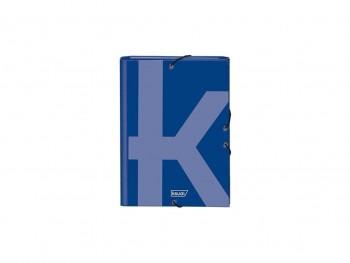 Dohe Carpeta gomas y 3 solapas Ksual Folio azul