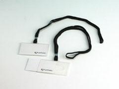 GRAFOPLAST Funda de identificacion + cordon negro (sueltas)