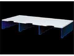 ARCHIVO2000 Buc modular archidoc trio ampliacion de 3 huecos de  127mm de alto AZUL