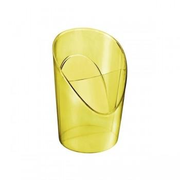 Esselte Cubilete Colour'Ice amarillo