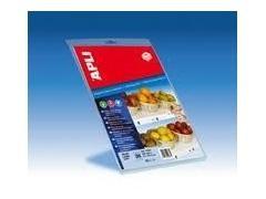APLI Etiqueta i/l/c para estanterias 67x25,4mm microperforada 200gr (300etiq) 10hojas