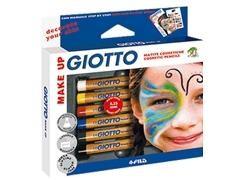 GIOTTO Set de maquillaje MAKE UP 6 colores surtidos