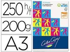 Pack 250h papel color copy 200gr A3