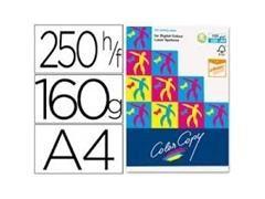 Pack 250h papel color copy 160gr A4