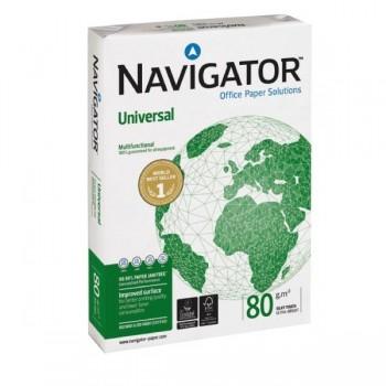 Pack 500h papel navigator 80g A4 blanco