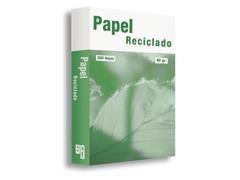 Pack 500h papel reciclado 80gr A4