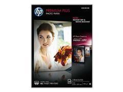 Caja 20 hojas de papel fotográfico satinado HP Premium Plus 300 gr. A4/210 x 297 mm