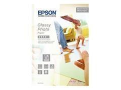 Caja 20 hojas de papel fotográfico Epson Glossy Photo Paper 225 gr. 10x15 cm