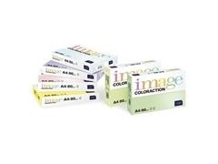 Pack 500h papel de color verde pastel 80 gr A4
