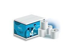 Paquete 10 rollos papel electra 56,5mmx65mm de diámetro mandril 12mm