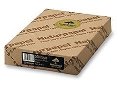 Pack 500h papel reciclado naturpapel 80gr A4