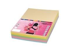 Paquete 250h papel color 80gr A4 colores claros