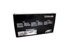 LEXMARK Tambor laser C734X24G 4 colores original (4x20k)