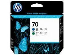 HP Cabezal inkjet C9408A AZUL/VERDE Nº70 original