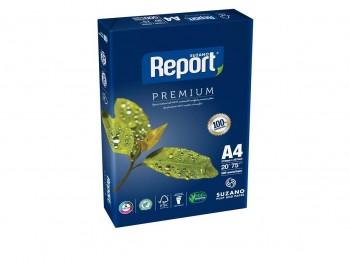 REPORT Din A-4 premium quality 75 Grs. 500hojas (AZUL)