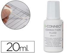 Q-CONNECT Corrector bote 20ml. pincel