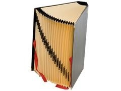 CARCHIVO Acordeon carton forrado (carpeta de fuelle)