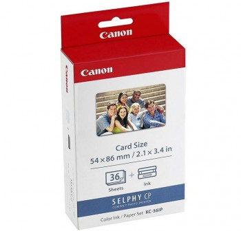 CANON Cartucho carga inkjet KC-18IF negro original