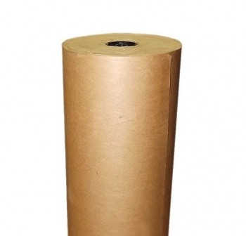 Bobina papel kraft marrón 110cm 55kg