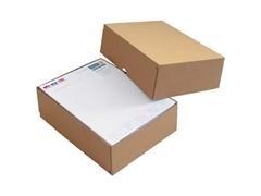 Pack 15 cajas de cartón tapa y fondo 308 x 221 x 100 mm.