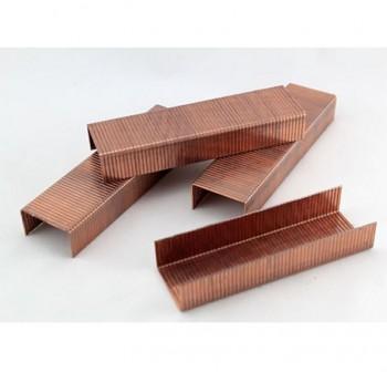 Caja 1000 grapas galvanizadas con baño de cobre Rapid 24