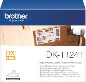 BROTHER Etiqueta QL 102X152mm precortada blanca papel 200etiquetas.