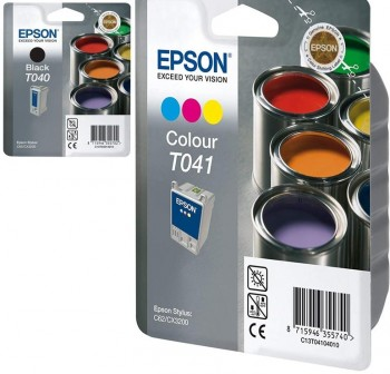 EPSON Cartucho inkjet T040 / T041 original