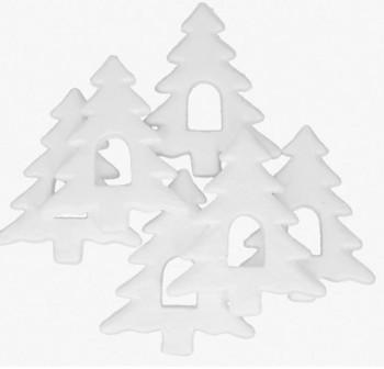 "SMART Pack 6 figuras poliespan \""ARBOL NAVIDAD\"" 15cm"