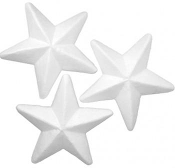 "SMART Pack 6 figuras poliespan \""ESTRELLAS\"" 10cm"