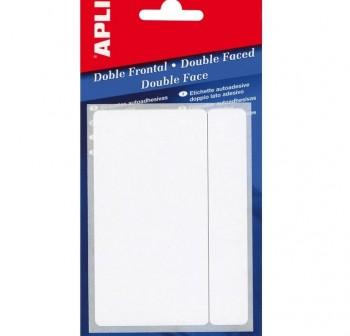 APLI Etiqueta adh.blanc.escr.man.10hojas 13x50 100unds