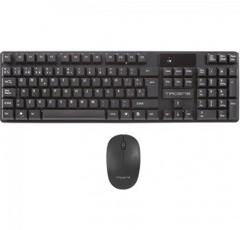 APPROX Teclado + raton wireless negro USB