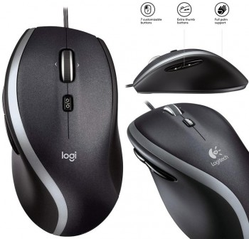 LOGITECH Raton M500 Optical Mouse