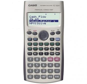 CASIO Calculadora financiera fc-100v