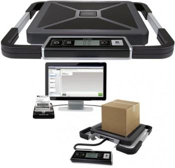 DYMO Pesapaquetes electronico 100kg.