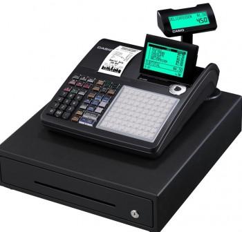 Caja Registradora CASIO SE-S450 Negra / Cajón Grande Negro Low - SE ECR Professional