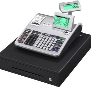 Caja Registradora CASIO SE-S3000 Gris / Cajón Grande Negro Mid - SE ECR Professional
