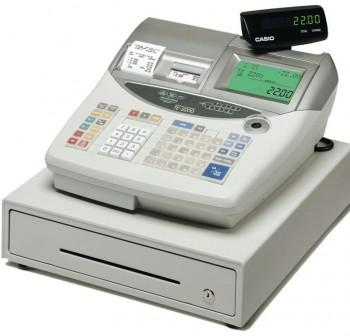 Caja Registradora CASIO TE-2200 Gris / Cajón Grande Gris Mid - TE ECR Professional