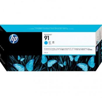 HP Cartucho inkjet C9467A Nº91 (750ml) original CYAN