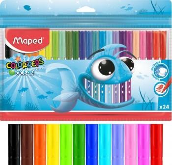 "MAPED Rotuladores ocean \""color'peps\"" caja 24 unidades"