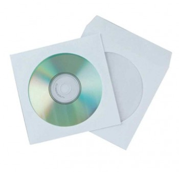 ARTES Sobre CD papel blanco c-50