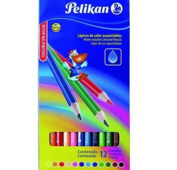 PELIKAN Lapices de colores estuche de 12 unidades