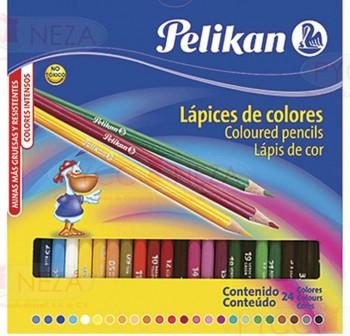 PELIKAN Caja de 24 lápices de colores